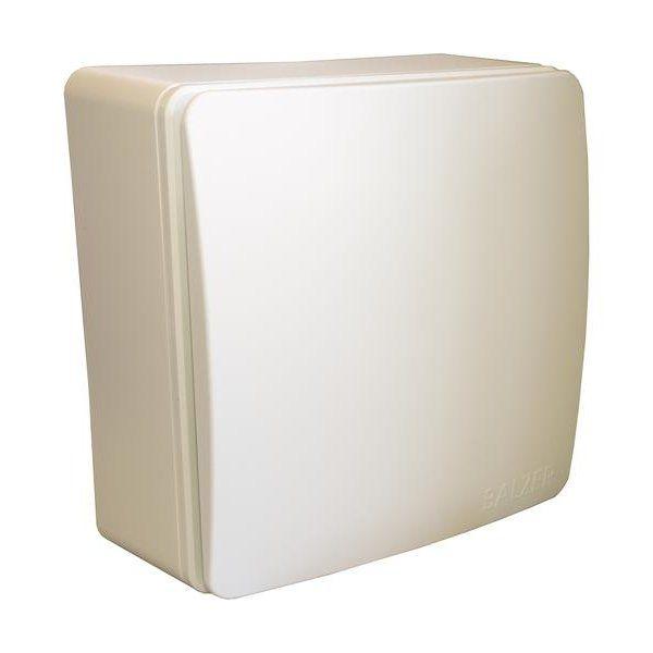 Aufputzlüfter A 60 G (60 m3/h) inkl. Lüftereinsatz und glatten Fassade