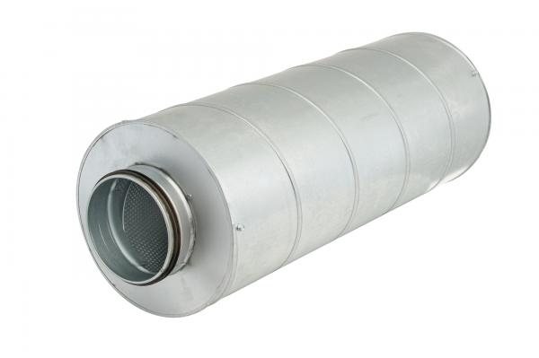 Rohrschalldämpfer DN400 Dämmstärke=50mm L=1000mm