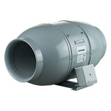 Schallgedämmter Rohrventilator Iso-Mix 150