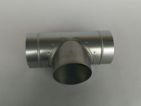 T-Stück 90° DN 125/80