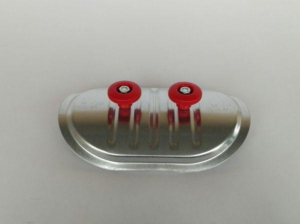 Rohr Revisionsdeckel RRD für einen Rohrdurchmesser 76 bis 85 mm