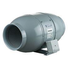 Schallgedämmter Rohrventilator Iso-Mix 100